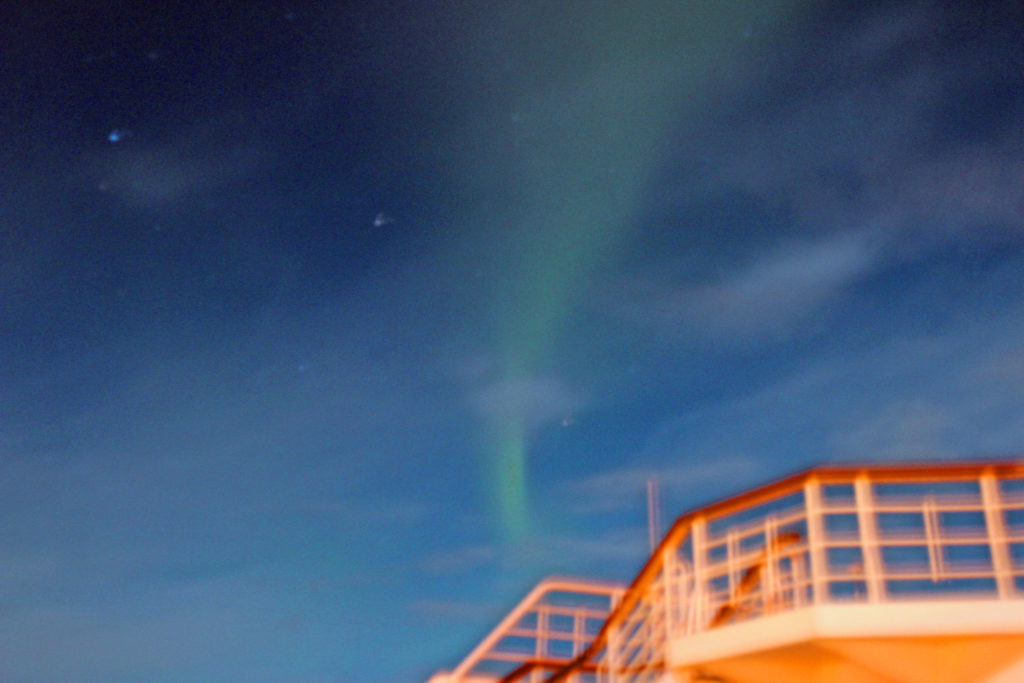 Norway And The Northern Lights P & O Cruise In 2017